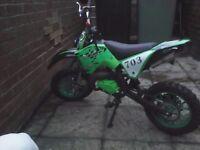 49cc mini off road dirtbike