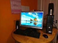 Full internet ready pc set up