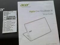 Acer Aspire One Cloudbook 14, Windows 10