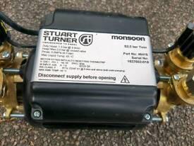 New Stuart Turner Monsoon 2.0 shower pump