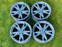 Genuine BMW M140i alloy wheels
