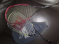 Squash Rackets - £15 for both or £10 for one.