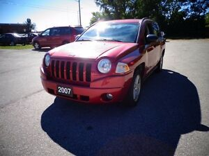 2007 Jeep Compass 4x4   AWD   4 Cylinder!