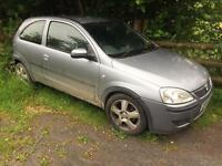 Vauxhall Corsa Spares or repairs
