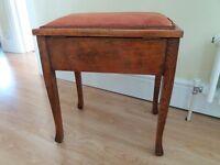 Piano stool - wooden