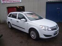 Vauxhall ASTRA CDTI 100,1686 cc 5 door Estate,full MOT,ex Police vehicle,bulletproof glass,