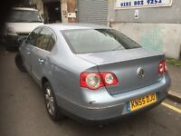 55 VW PASSAT 2.0 TDI MANUAL FULL CARS FOR PARTS FOR ANY PARTS CALL ON