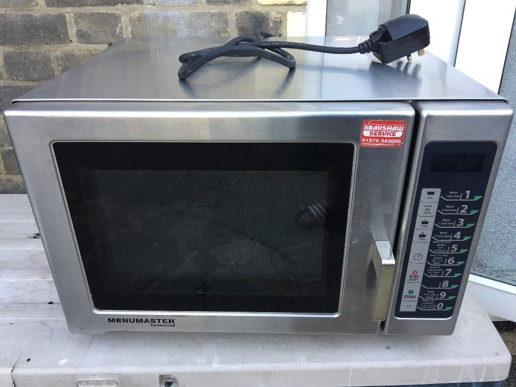 Menumaster RFS511TSW Commercial Microwave 1100W | in Ilford, London |  Gumtree