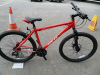 Mtrax Caldera Mountain Bike Brand New Unused Disk Braked Aluminium Hardtail