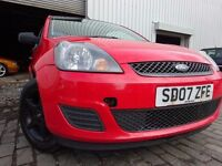 07 FORD FIESTA STYLE 1.3,MOT OCT 016,PART HISTORY,3 OWNERS,VERY RELIABLE FAMILY CAR,DRIVES SUPERB
