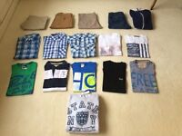 Men's bundle Size Small.Hollister,Topman,Gap,Timberland etc