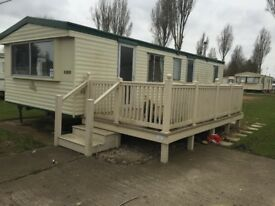IMMACULATE 2 BEDROOM STATIC CARAVAN OFF SITE SALE