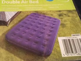 Double air bed (unused)