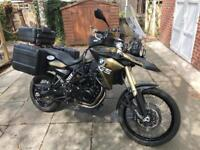 BMW F800GS (2013), Kalamata Green, Loaded with extras