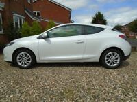 2012 RENAULT MEGANE DYMANIQUE, TOM TOM, 1.6 COUPE, LOW MILES, 1 PREVIOUS OWNER