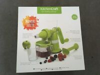 Manual Fruit Juicer — doesn't need electricity