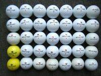 35 Wilson Staff DX2/3 GF tour golf balls in excellent condition