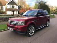LAND ROVER RANGE ROVER SPORT SUPERCHARGE 2006 4.2 FULLY LOADED YEAR MOT DRIVES THE BEST 07391322684