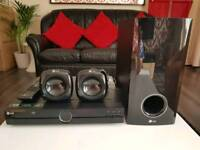 Lg surround system -includes dvd player.speakers and subwoofer