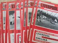 Liverpool F C Football Programmes