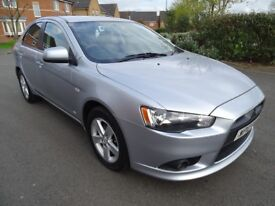2010 MITSUBISHI LANCER 2.0 DI-D 140 GS2 MANUAL DIESEL 12 MONTHS MOT INCLUDED