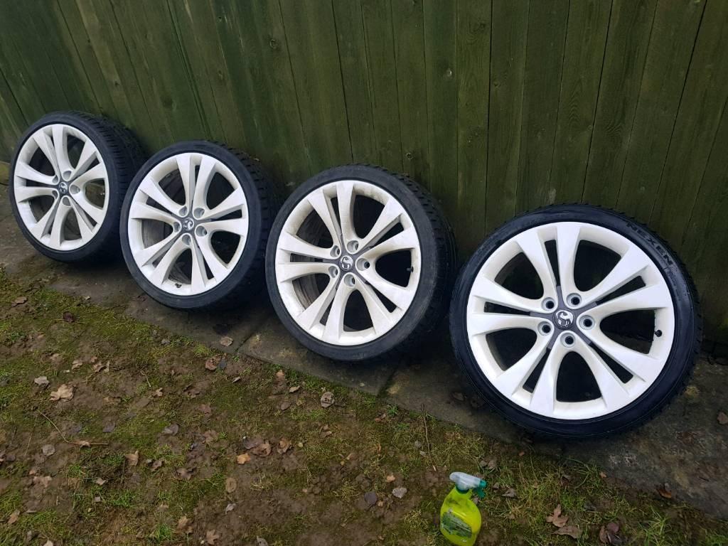 """Vauxhall vx line 20"""" alloys"""