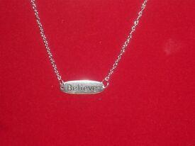 Lovely BELIEVE Necklace