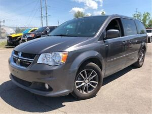 2017 Dodge Grand Caravan CVP/SXT NAV LEATHER/CLOTH DVD/TV POWER
