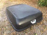 Large Halfords Roofbox