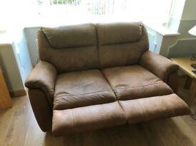 Matching 2 & 3 Reclining Seater Sofas