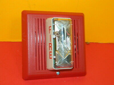 Est Edwards 757-5a-ss25 Fire Alarm Speaker Strobe