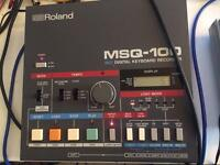 Roland MSQ-100 sequencer recorder