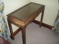 Chinese engraved hall table