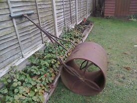 Large Garden Roller.