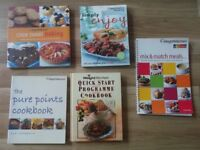BUNDLE OF 5 WEIGHT WATCHERS BOOKS