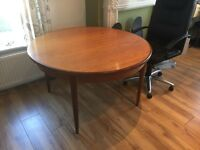 FREE Solid Teak G Plan Retro Dining Table inc. 4 Chairs