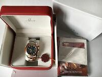 New Swiss Omega 007 Chronograph Watch