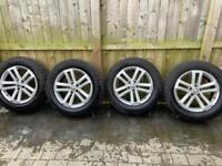 "Volkswagen Amarok Cantera Cantara 19"" 19 inch Alloy Wheels Off Road Tyres"