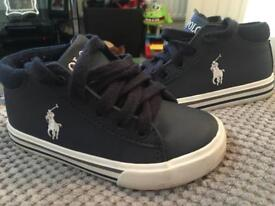 Polo Ralph Lauren 8 1/2 boys shoes