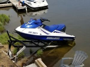 2002 Seadoo GTX Di with trailer