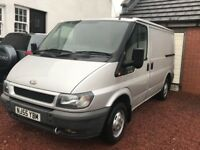 Ford Transit 280 SWB only 62k miles, Silver