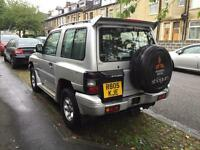 1998 R Reg MITSUBISHI SHOGUN 2.8 td SWB MANUAL Flared arch