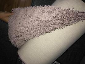 Brand new next rug in pink/blush colour