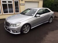 Mercedes Benz E CLASS E250 AMG Sport Automatic - FMBSH - Low Millage - Lots of extras