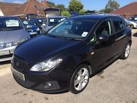 2011/11 SEAT IBIZA 1.4 16V SE CHILL 5 DOOR, IN BLACK, ONE OWNER,SERVICE HISTORY,GREAT LOOKS AND SPEC
