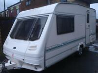 2 berth Sterling europa 460nt motor mover full awning. Serviced & more extras. Top of the range