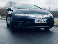 Honda Civic 2.2 i-CTDi SE 5dr Black MOT Till March 2018 full service history