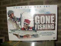 GONE FISHING DVDs box set sealed