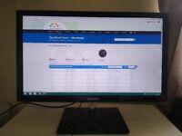 Samsung Monitor - 24 inch, 1080p, HDMI + VGA inputs, perfect working order