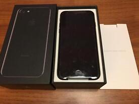 iPhone 7 128gb Jet black brand new UNLOCKED
